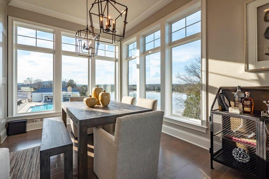New owner Joe Blazer's dining area has been of sunshine and gorgeous lake views, a dream for he and his fiancé, Laura Hartle.