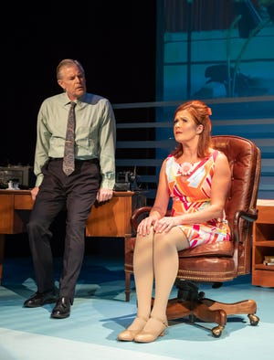 "Larry Alexander and Kristin Carbone in ""On A Clear Day You Can see Forever"""