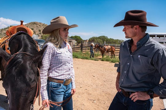 "Naples native Bailey Chase co-stars with Spencer Locke in a new Netflix Original movie, ""Walk. Ride. Rodeo."""
