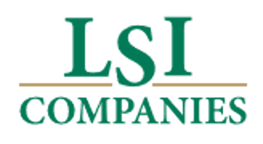 Logo for new company, LSI Cos.