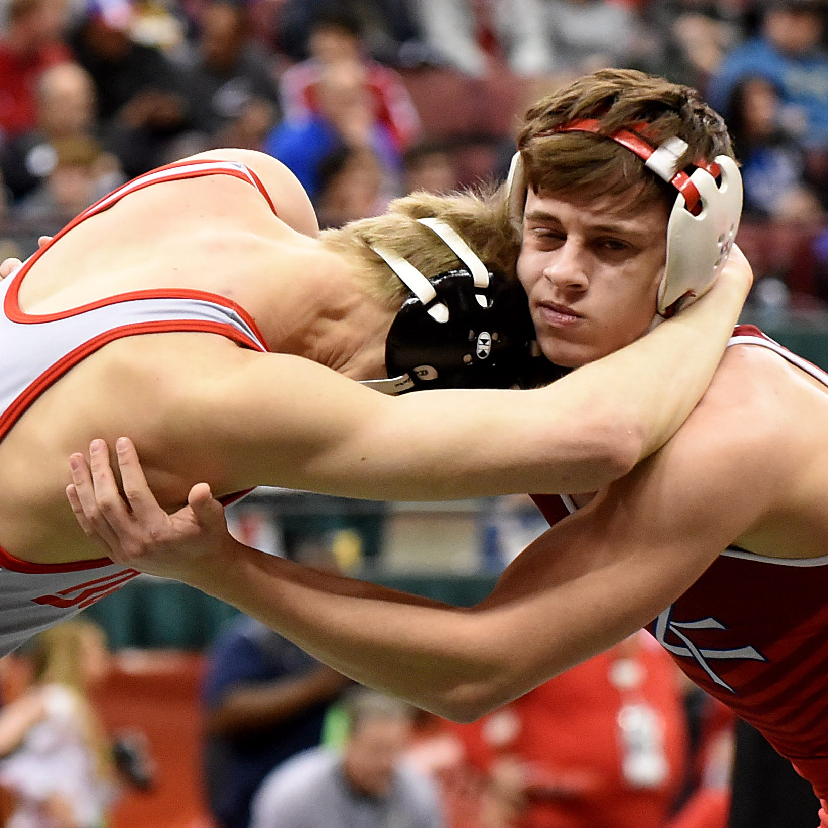 State wrestling: ZT's Hoselton, WF's Moll conclude seasons on second day of action