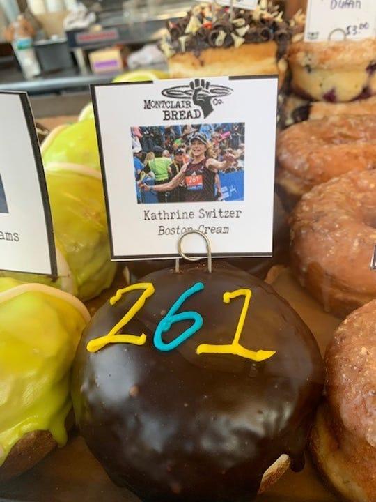 The Kathrine Switzer donut