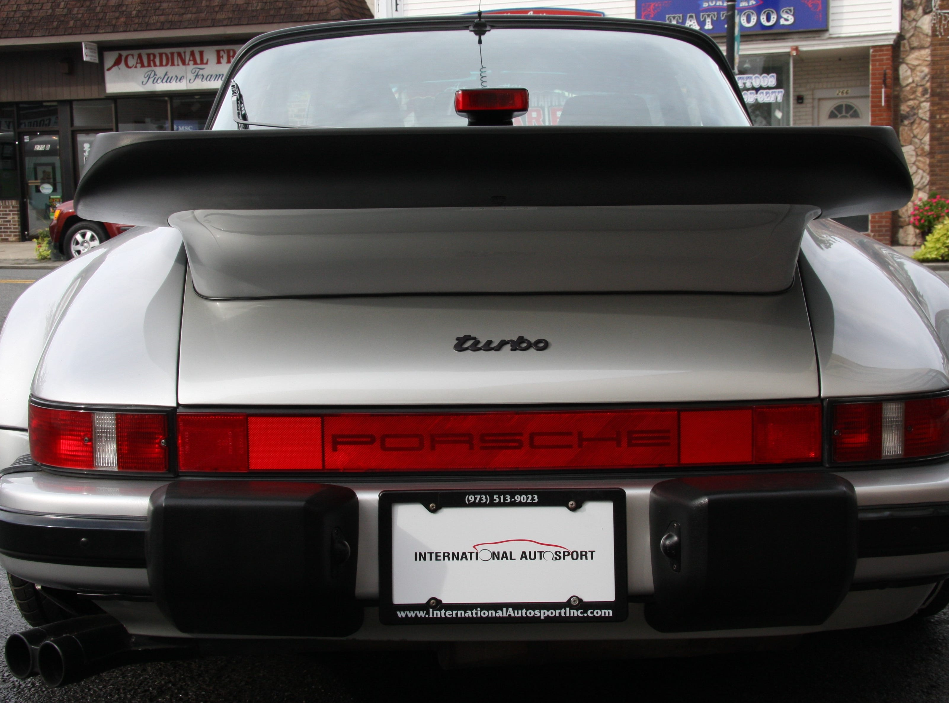 A rare Porsche 911 Turbo Targa slant-nose sold on March 8, 2019 at International Autosport, a car dealership on Wanaque Avenue in Pompton Lakes that specializes in high-end and exotic used cars.