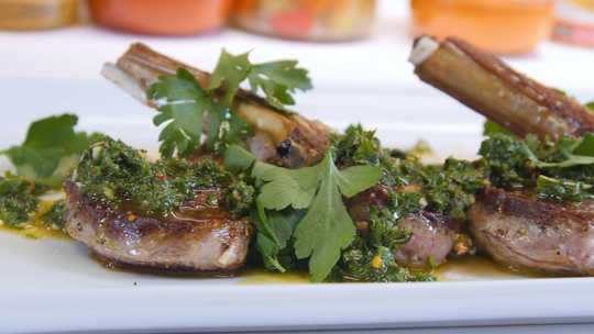 These lamb chops are a guaranteed crowd-pleaser at any dinner party.