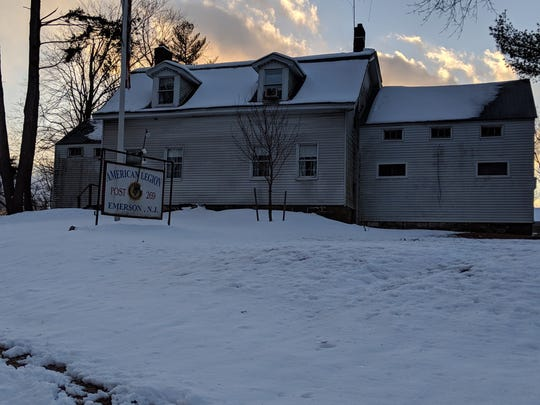 Emerson's American Legion building is also known as the DeBaun House, which dates back to the 1770s.