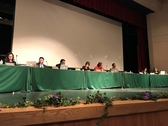Coachella Valley Unified School District's Board of education voted to approve the layoffs of 81 employees on March 7, 2019.
