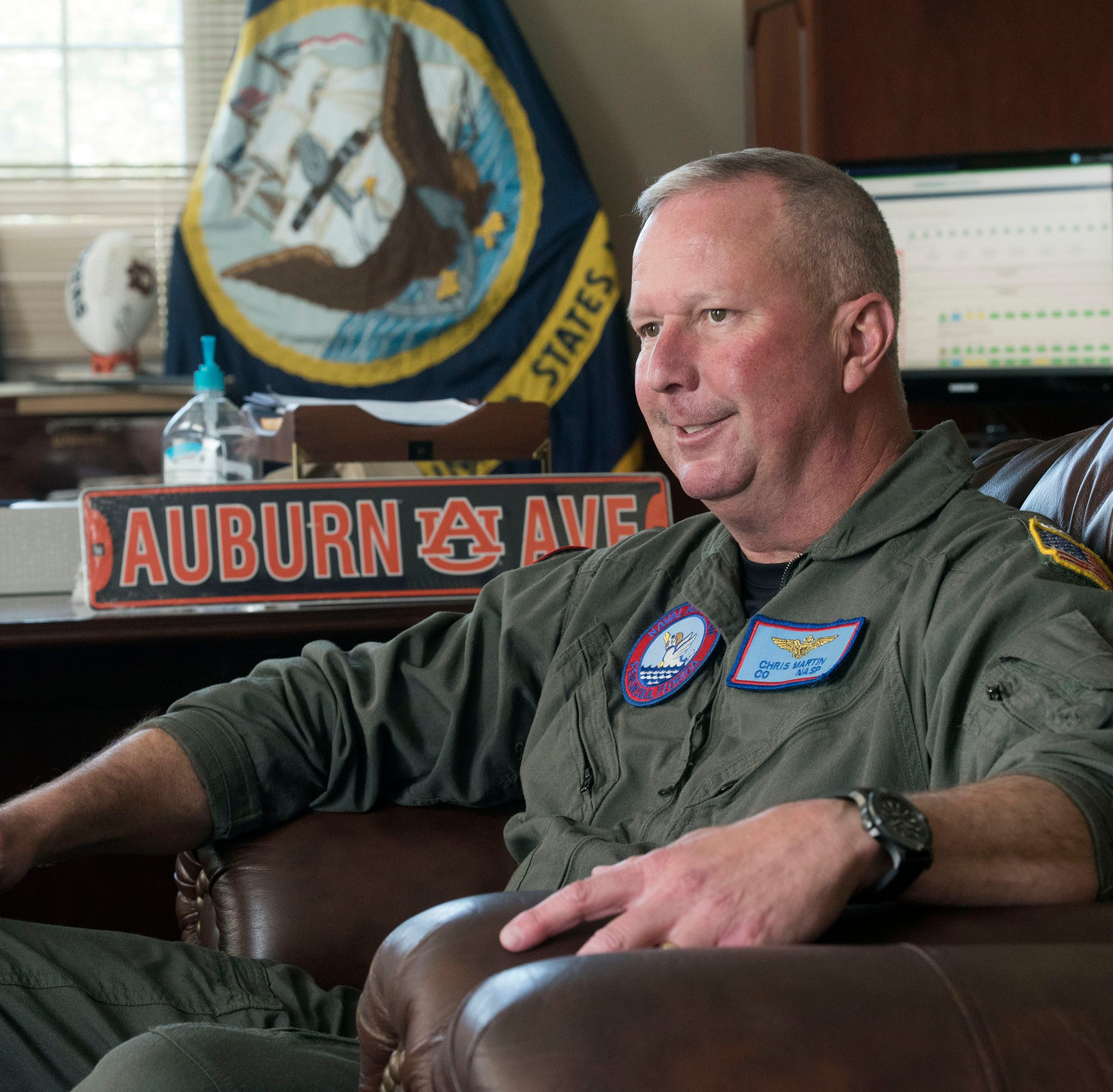 Naval Air Station Pensacola commander prepares to say goodbye after three years at helm