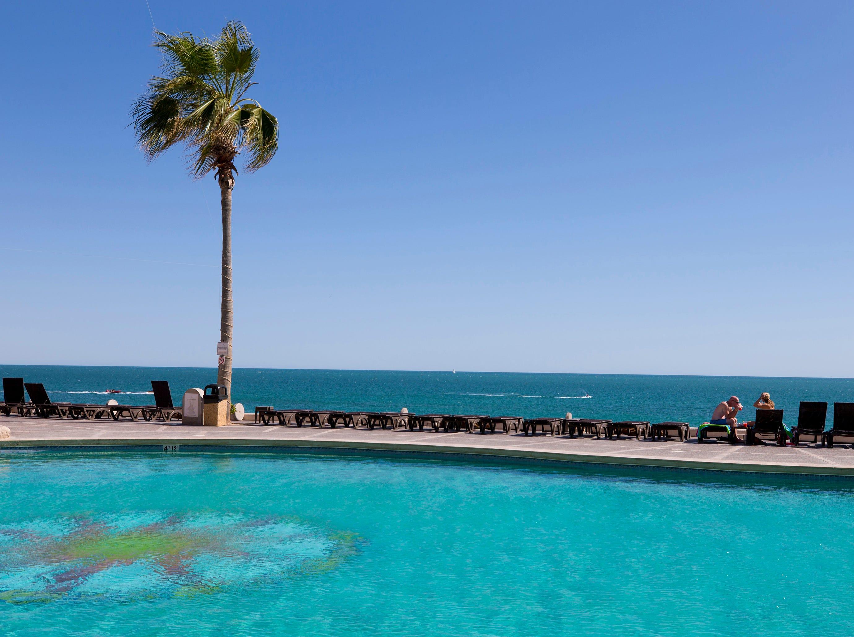 Sonoran Sun Resort is ocean front property on Sandy Beach in Puerto Penasco, Mexico.