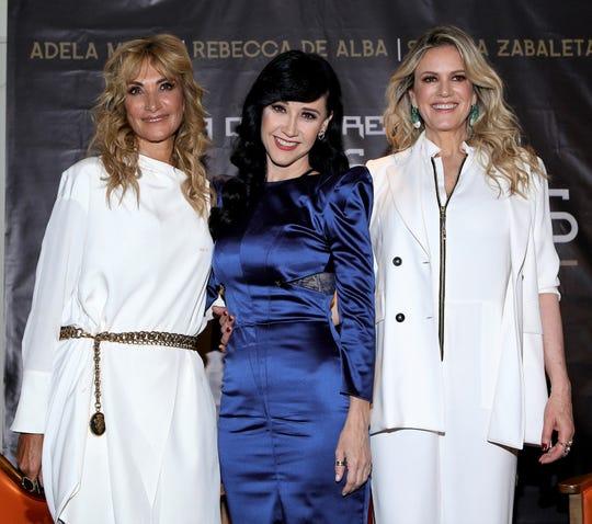 Adela Micha, Susana Zabaleta y Rebecca de Alba, compartirán las buenas y malas experiencias que han enfrentado a lo largo de su vida.