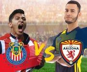 Arizona FC y las Chivas de Guadalajara se enfrentarán el 22 de marzo en Mesa, Arizona.