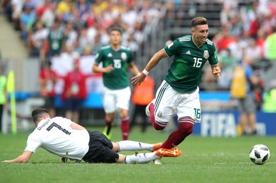'El Zorrillo' Herrera es un referente de la Selección Mexicana de Futbol.