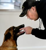 Cover Six Canines, a ministry of Freedom Biker Church York, gives free service dog training to veterans.