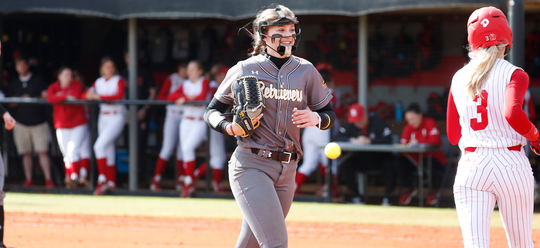 Courtney Coppersmith has posted multiple shutouts in the beginning of her Division I softball career.