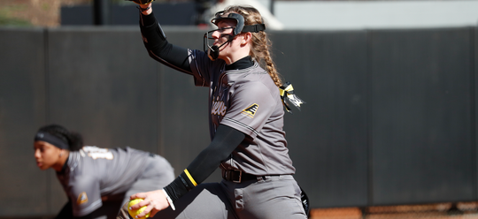 Central York grad Courtney Coppersmith struck out 17 batters in one of her first collegiate starts for Division I UMBC.