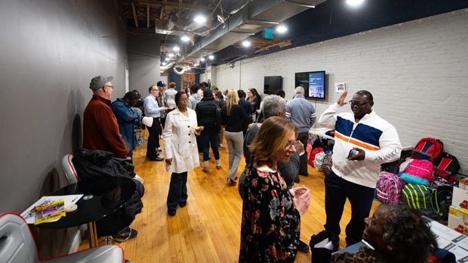 Cornbread West owner April Collier recently held a grand opening party for her two new community outreach and educational spaces in downtown York called the Jook Joint Global Inc. and LEXI Social Club.