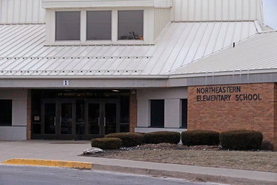 District officials are planning on making changes to the entrance of Northeastern Elementary School to make it more secure.