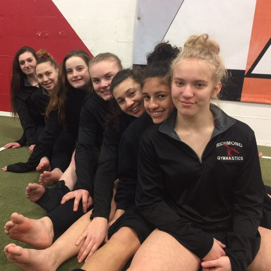 On to state: RHS gymnasts relaxed after regional surprise