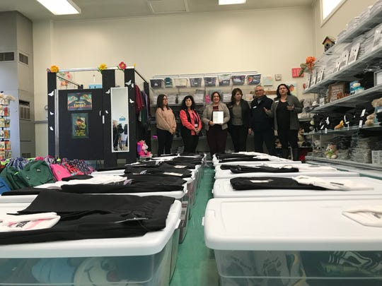 The Family Resource Center at Kammann Elementary School in North Salinas opened Wednesday, aiming to serve a district where more than one in three students are identified as homeless.