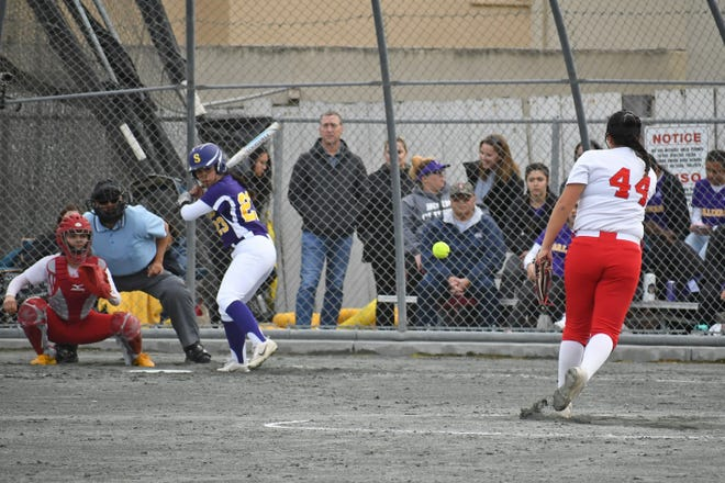 North Salinas pitcher Sofia Gombos set a season-high in strikeouts Thursday and earned her first Athlete of the Week award of the season.