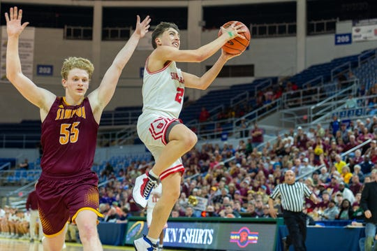 Summerfield fell to Simpson in the Class C state championship game Friday.