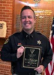 Sgt. Doug Smith of the Caddo Sheriff's Office was named Law Officer of the year.