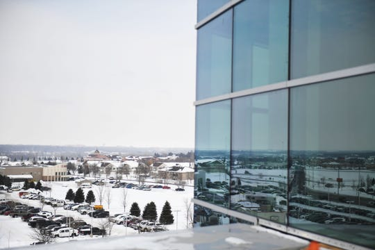New Avera hospital on Louise Avenue Thursday, March 7, at the new site on Louise Avenue in Sioux Falls.