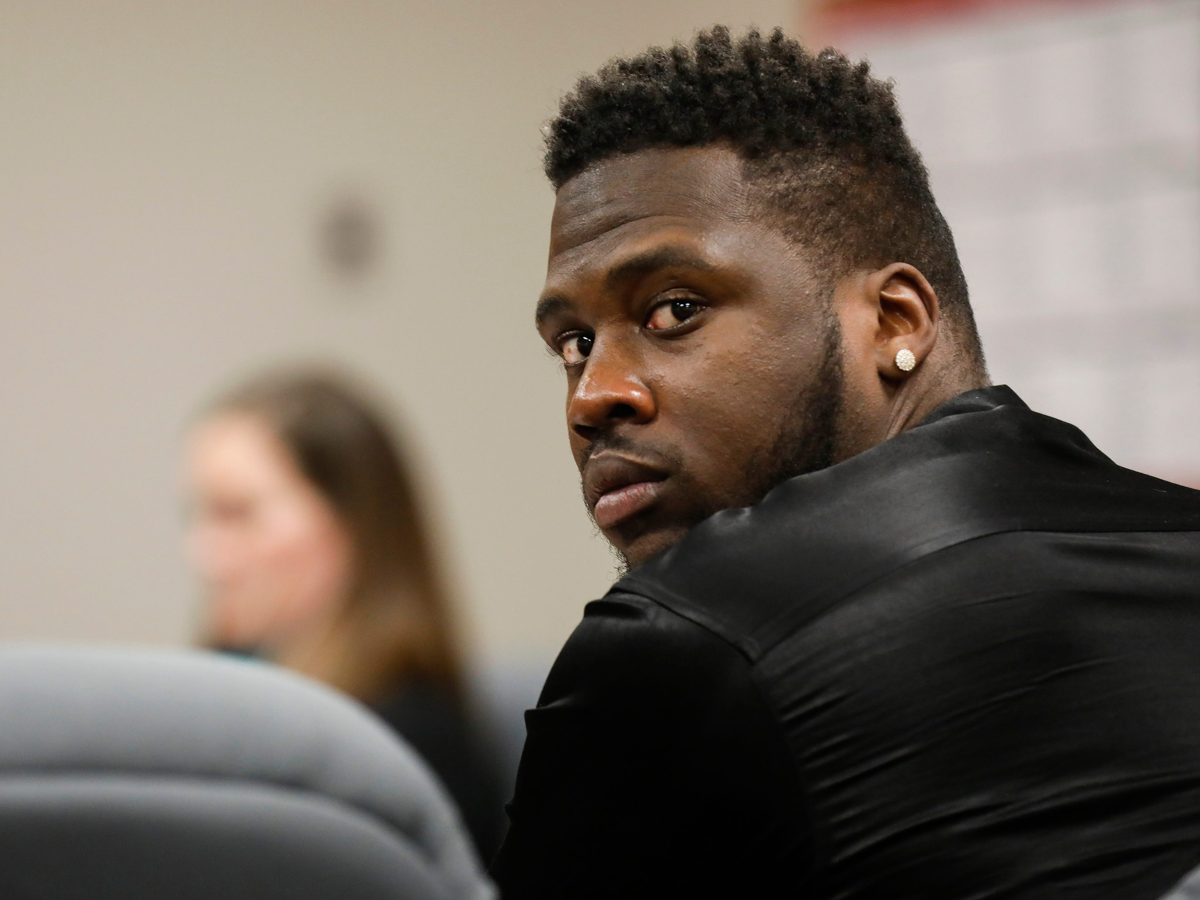 Dorial Green-Beckham was sentenced to 90 days in the Greene County Jail for violating his probation in a prior DWI case on Friday, March 8, 2019.