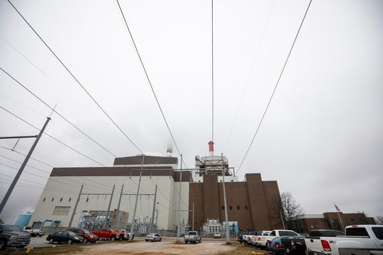 Nearly 50 mph winds the night of Feb. 23 pushed on a 3-foot tall metal bar that wasn't properly locked in the upright position and slammed it down, completing a circuit that sent 20,000 volts of electricity backflowing into the Unit 1 turbine.
