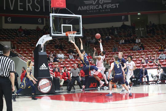 Southern Utah University dropped its final home game of the year Thursday, falling 70-53 to a hot-shooting Northern Colorado team. The Bears won a share of the Big Sky regular season title, with the Thunderbirds likely dropping to a 10-seed heading into the conference tournament.