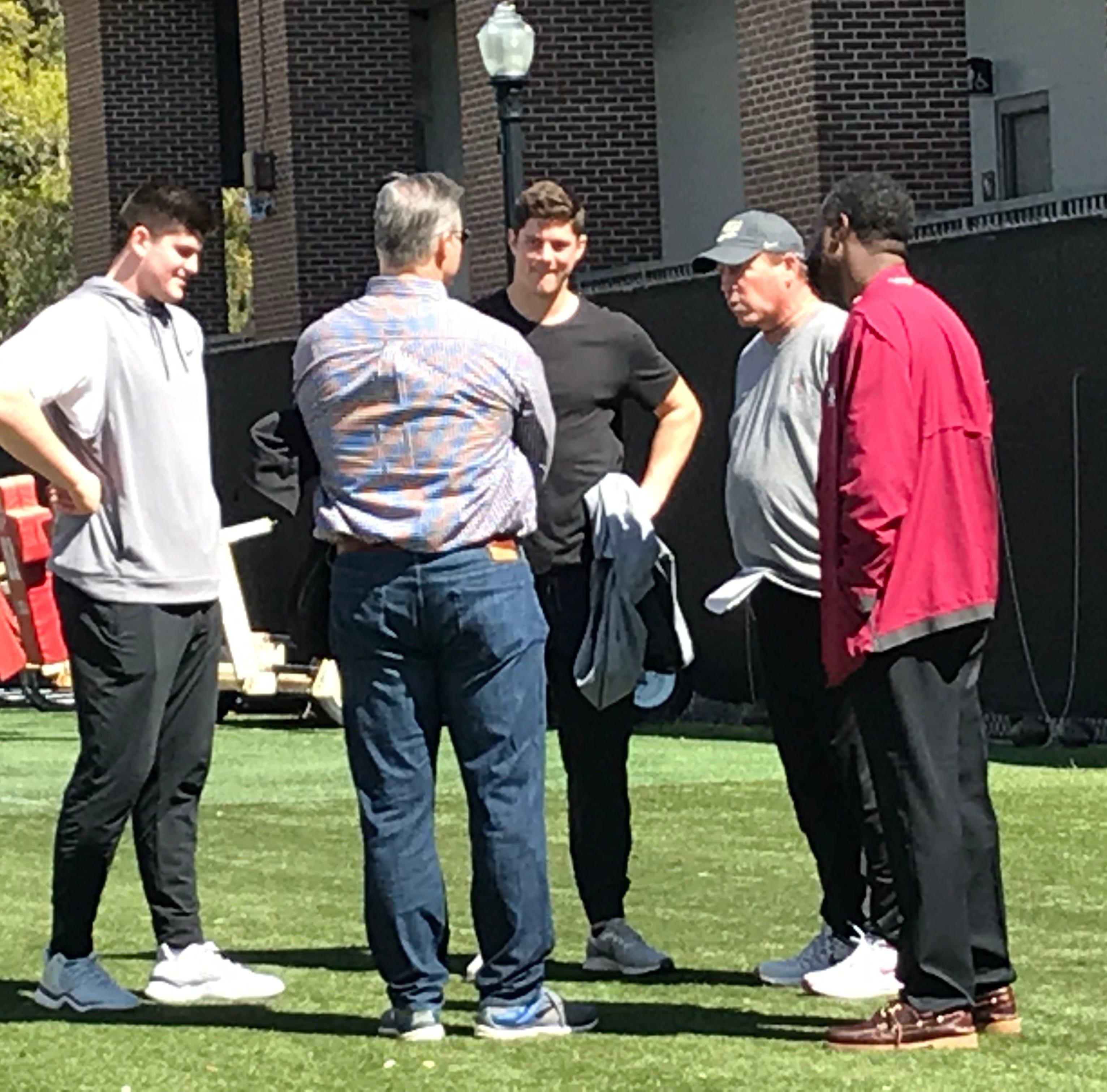 Wisconsin grad transfer quarterback Alex Hornibrook visiting Florida State