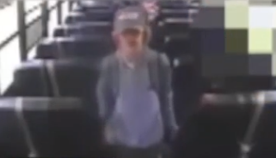 Gunnar Johansson, 14, was told by a bus aide to remove his Make America Great Again hat.