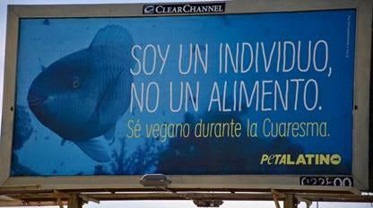 PETA asks El Paso Lent observers to refrain from fish this season.