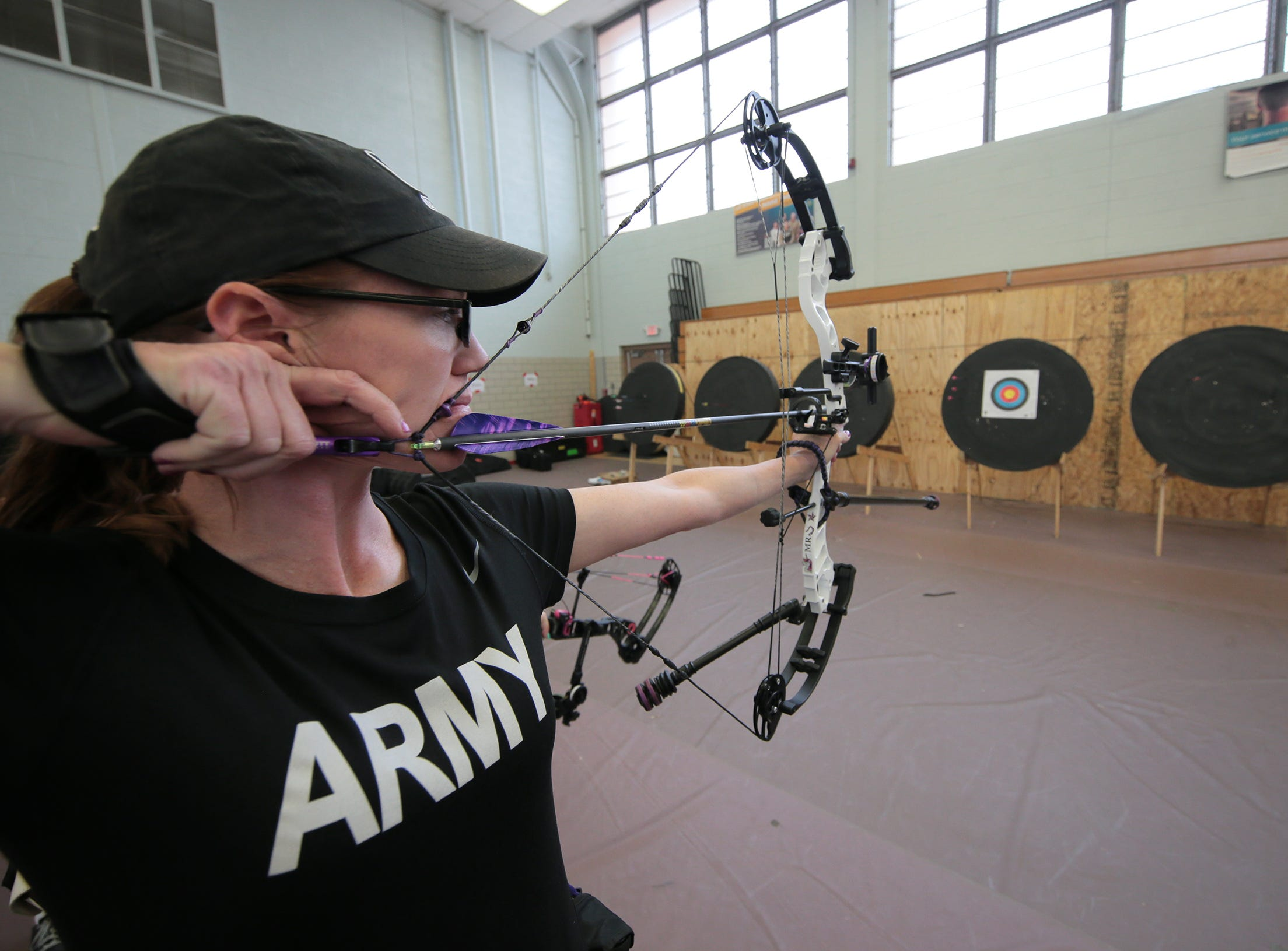 Soldiers from across the Army are at Fort Bliss competing at the U.S. Army Warrior Trials at Fort Bliss in hopes of representing the Army at the Defense Warrior Games in Tampa, Fla. in the summer. The competition is open to active duty, veterans, reserve and national guard.