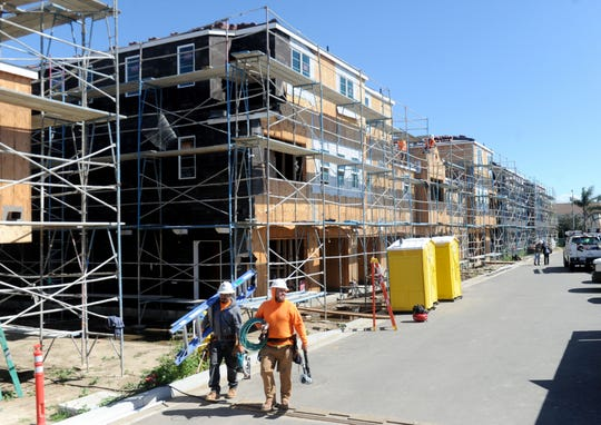 Many Mansions is working on a 40-unit veterans-only housing complex in Oxnard that's scheduled to be complete in August.