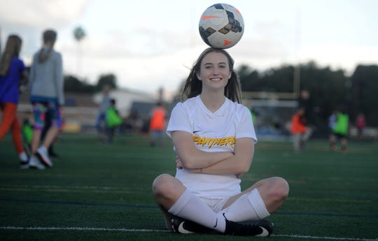 Newbury Park High's Kaitlyn McKeown says she has learned at lot from older sister Tara, who plays forward for USC and the U.S Under-23 national team.