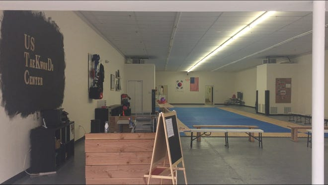 The ground floor of 113 N. High Street in Millville is well on the way to opening in March as the new home of the U.S. Taekwondo Center. The school is taking over the former Regional Music building, which has been vacant since late 2016.