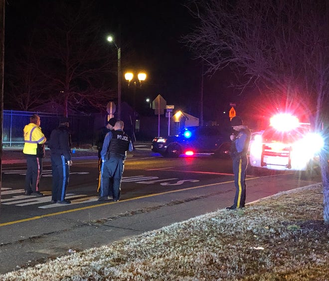 Police are trying to determine how a pedestrian-motor vehicle collision unfolded March 7, 2019 along the Boulevard, near Almond Street, in Vineland, NJ.