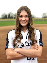 Rylie Atherton is the starting pitcher on the Central Valley Christian High School softball team.