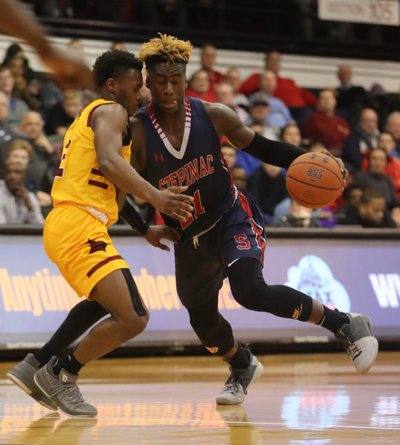 Stepinac defeated Cardinal Hayes 77-65 in a CHSAA semifinal basketball game at Fordham University March 7, 2019.