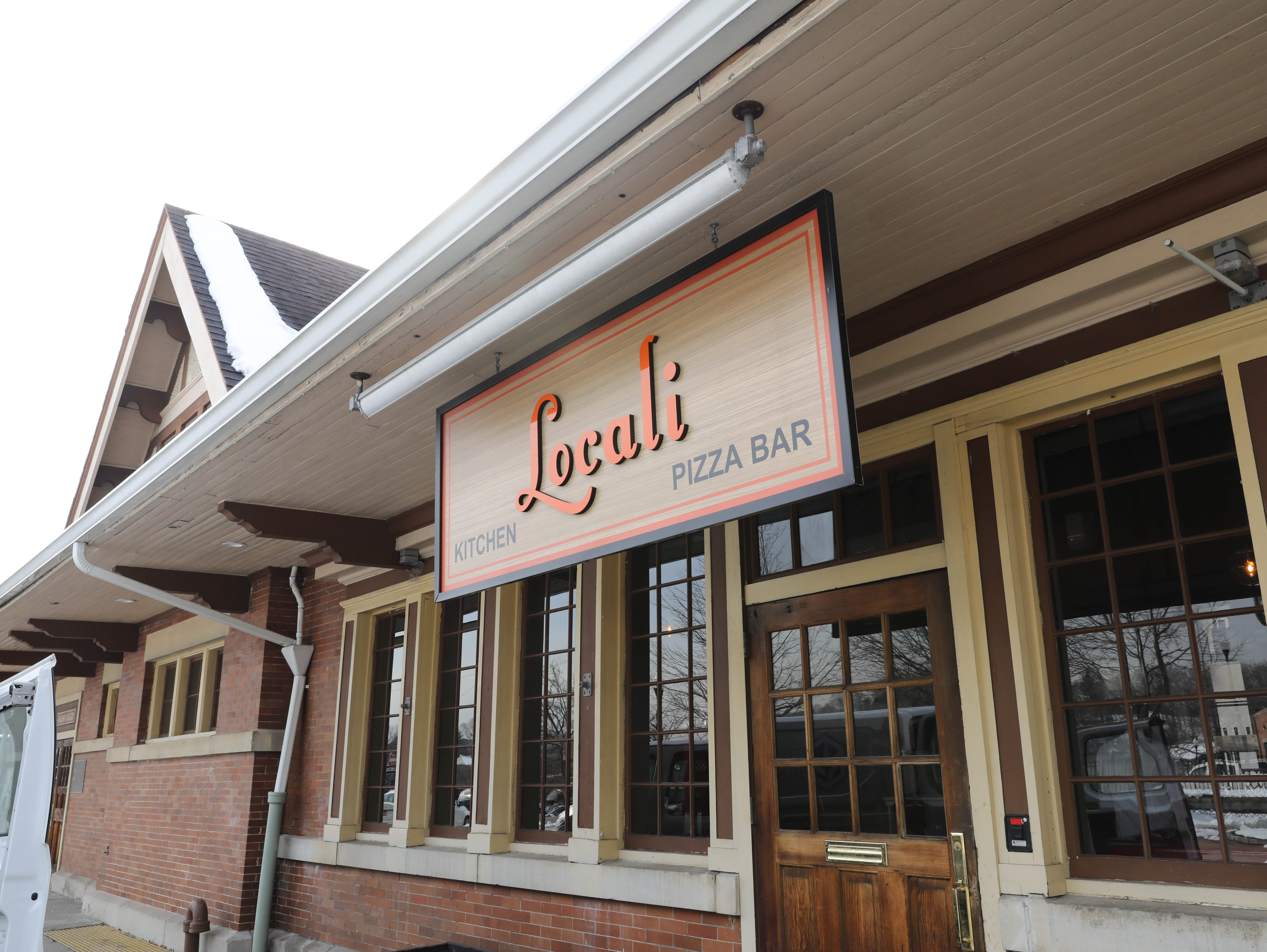 The exterior of Locali Pizza Bar and Kitchen in the Mount Kisco railroad station, March 8, 2019.