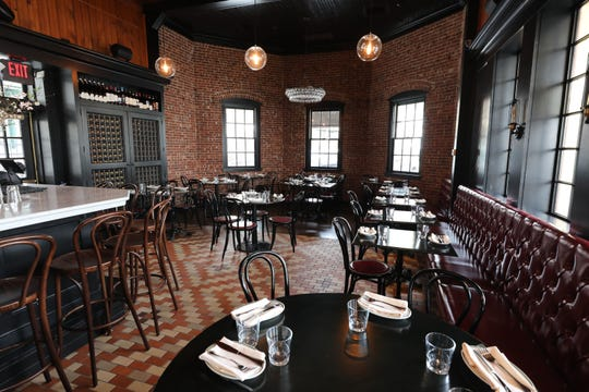 The dining room at Locali Pizza Bar and Kitchen in the Mount Kisco railroad station, March 8, 2019.
