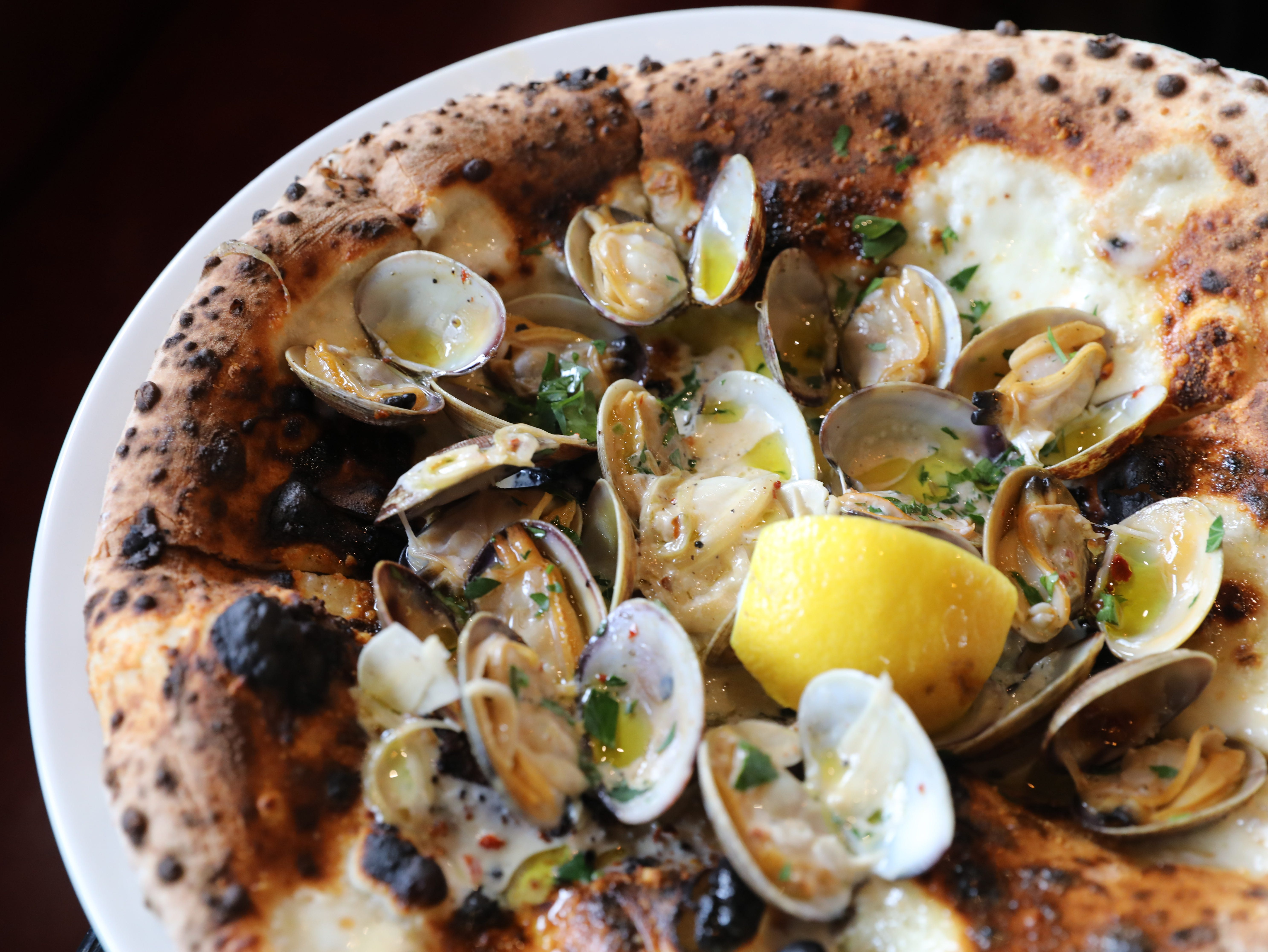The Locali Clam Pizza at Locali Pizza Bar and Kitchen in the Mount Kisco, March 8, 2019.