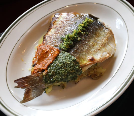 The Wood-Fired Branzino at Locali Pizza Bar and Kitchen in the Mount Kisco, March 8, 2019.
