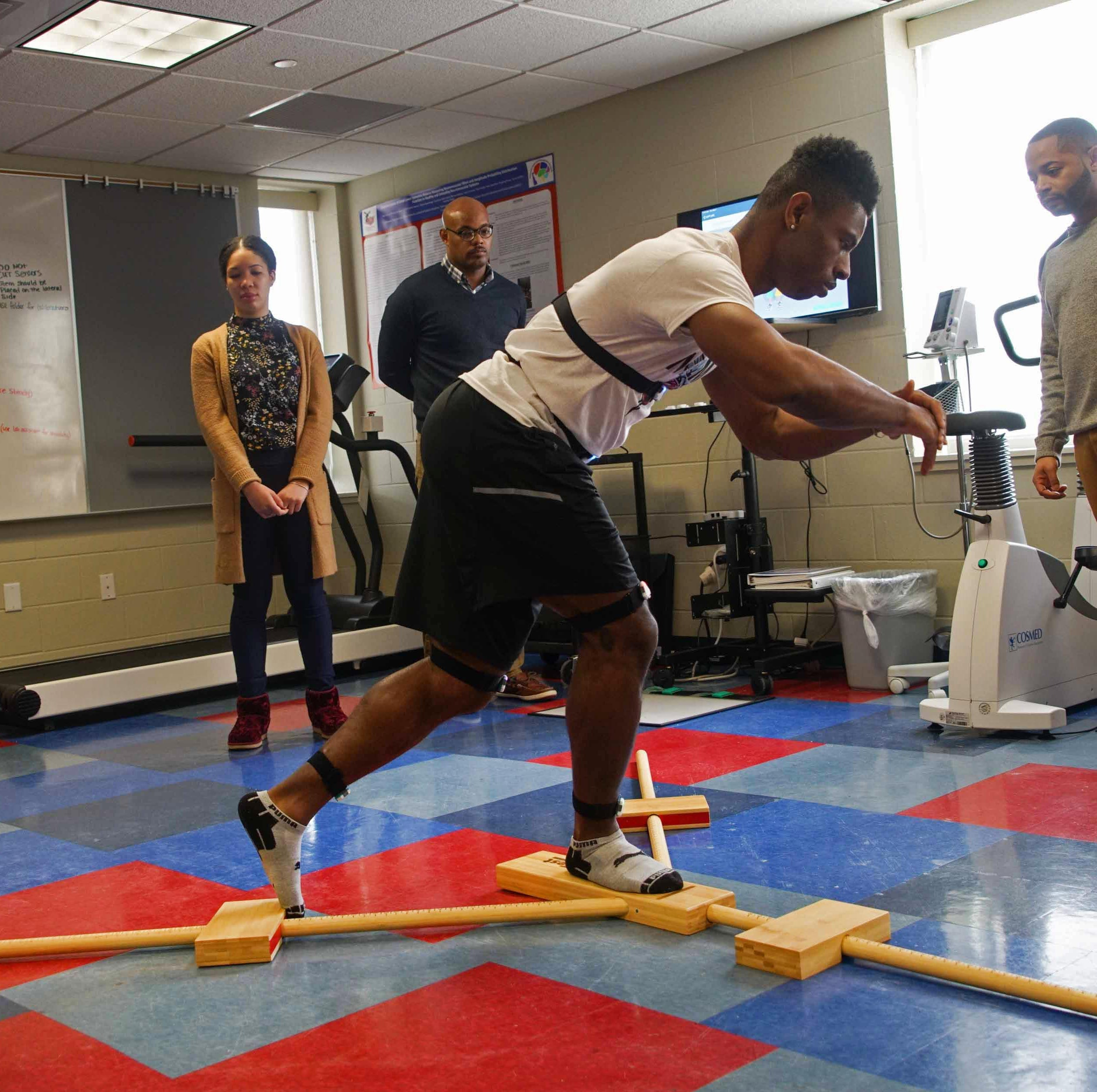 How Delaware State University research is predicting athletes' risk for ankle injuries
