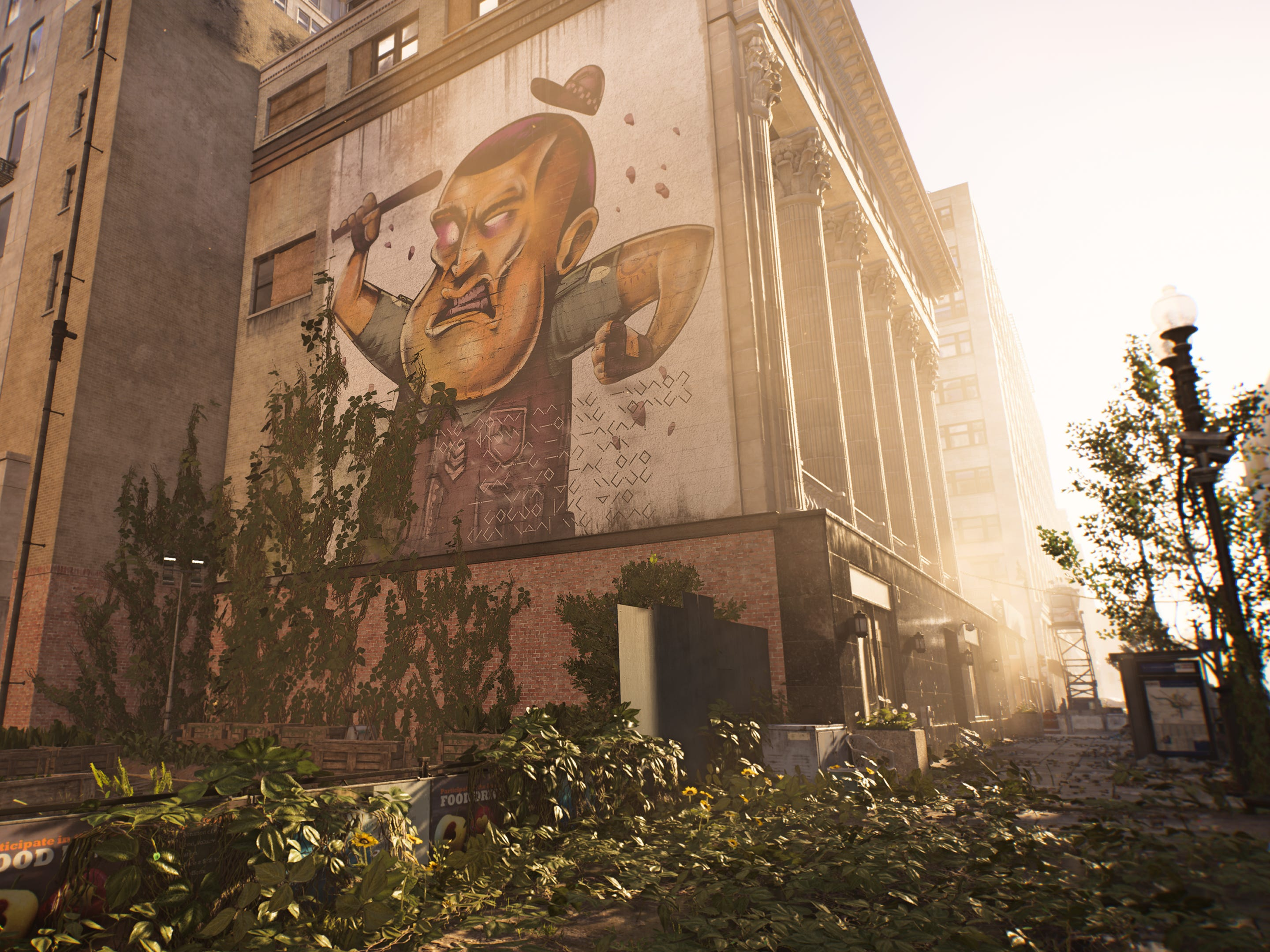 A new video game from Ubisoft, 'The Division 2,' puts players in a realistically rendered, but ramshackle version of Washington, D.C., which has been decimated by a virus.