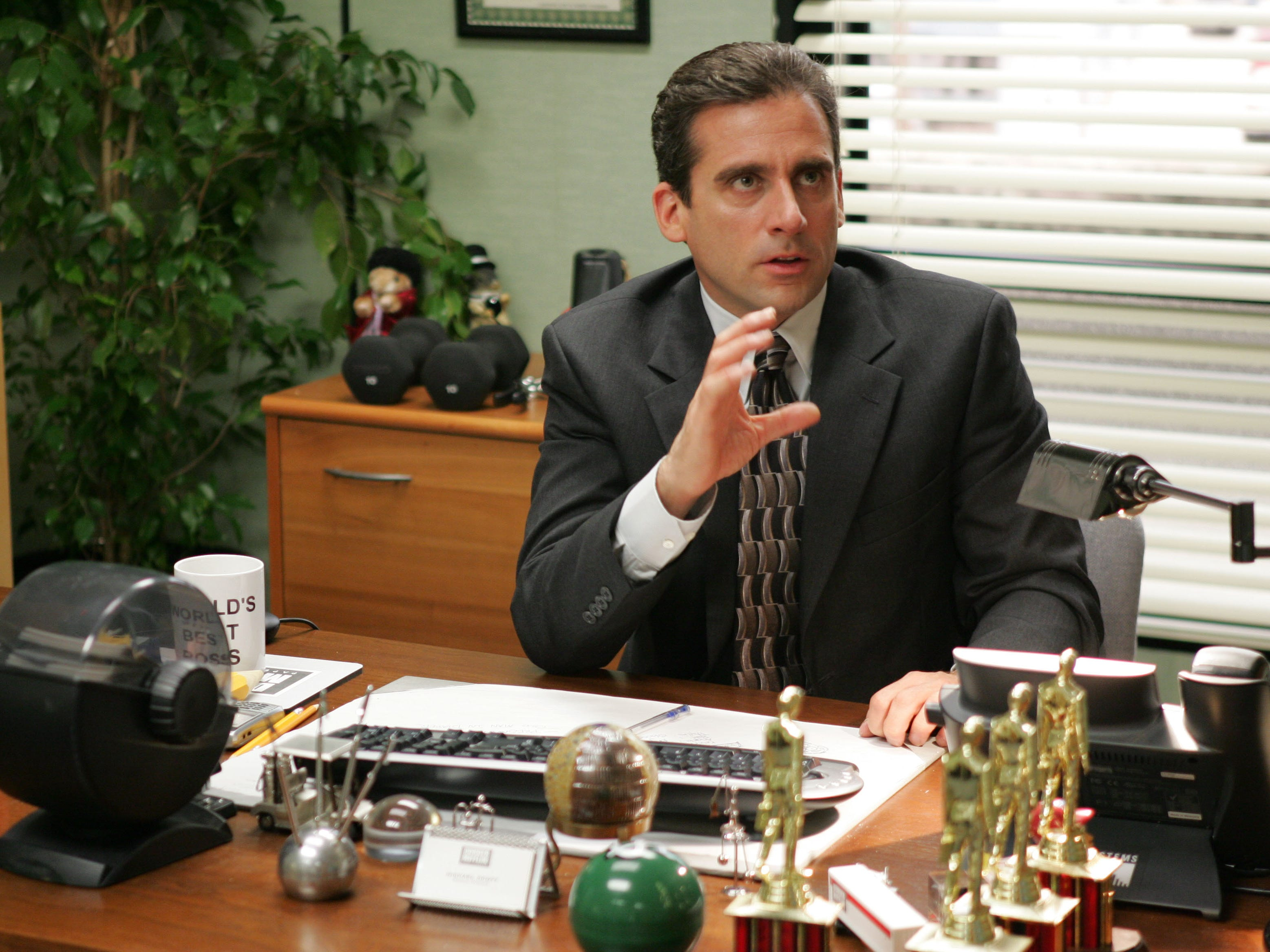 """Pictured: Steve Carell as Michael Scott in """"The Office"""""""