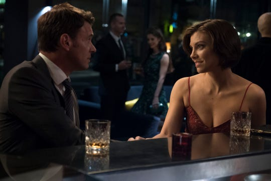 FBI agent Will Chase (Scott Foley), left, and CIA operative Frankie Trowbridge (Lauren Cohan) of ABC's 'Whiskey Cavalier,' are the latest incarnation of a TV staple, the bickering, crime-fighting couple.