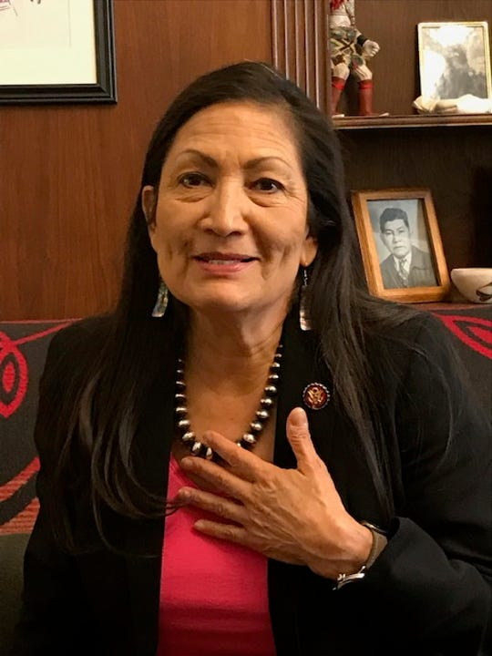 Rep. Deb Haaland, D-N.M., talked to USA TODAY Feb. 28, 2019, about her first few months in Congress.