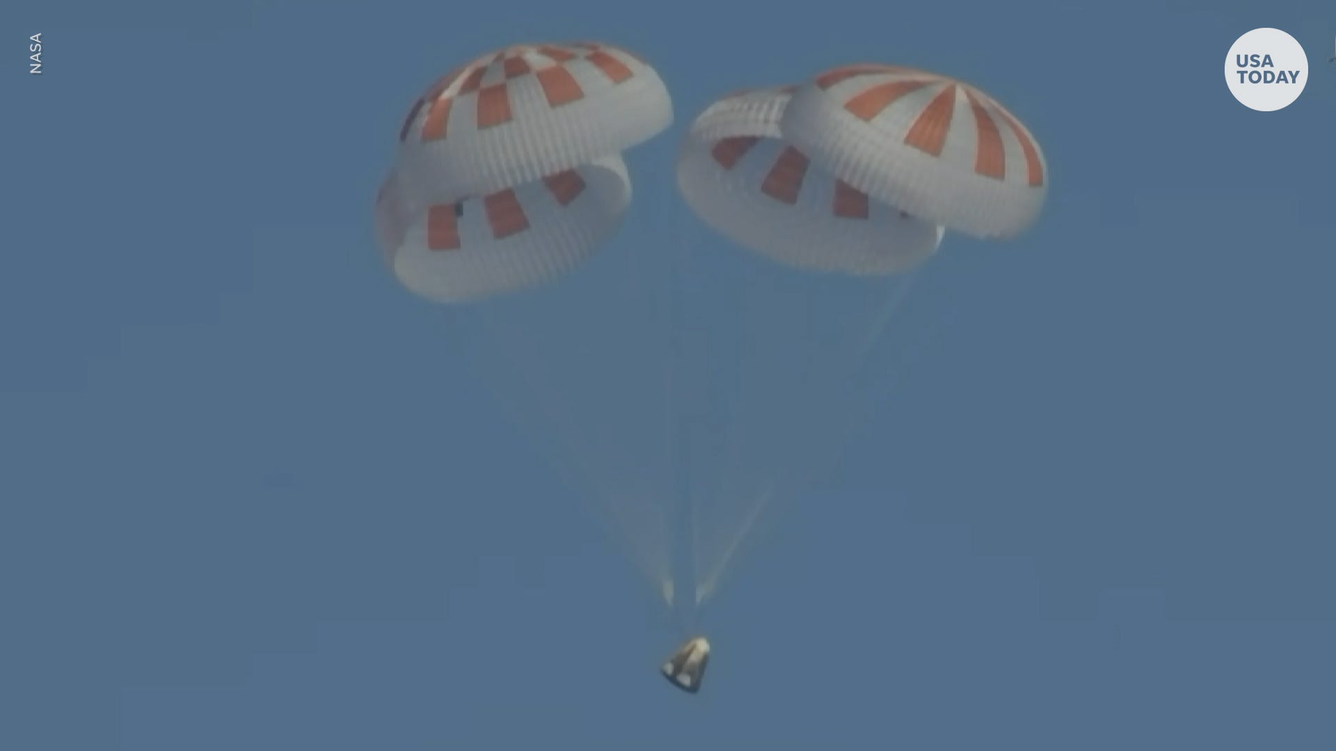 SpaceX Crew Dragon makes historic splashdown