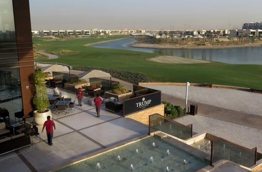 The Trump International Golf Club clubhouse in Dubai, United Arab Emirates. Photo: Aug. 9, 2017.